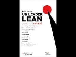 Le livre Devenir un leader LEAN avec un sensei