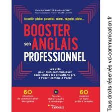 Livre Booster son anglais professionnel