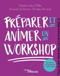 Livre concevoir et animer un workshop