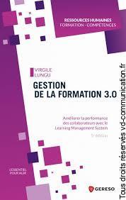 Livre gestion de la formation 3.0