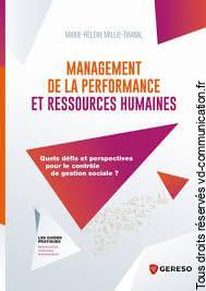 MANAGEMENT DE LA PERFORMANCE ET RESSOURCES HUMAINES